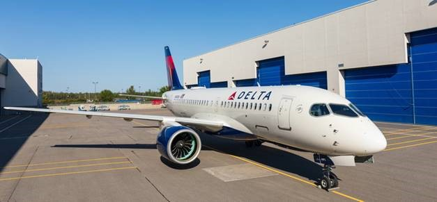 Delta Air Lines A220 makes inaugural flight