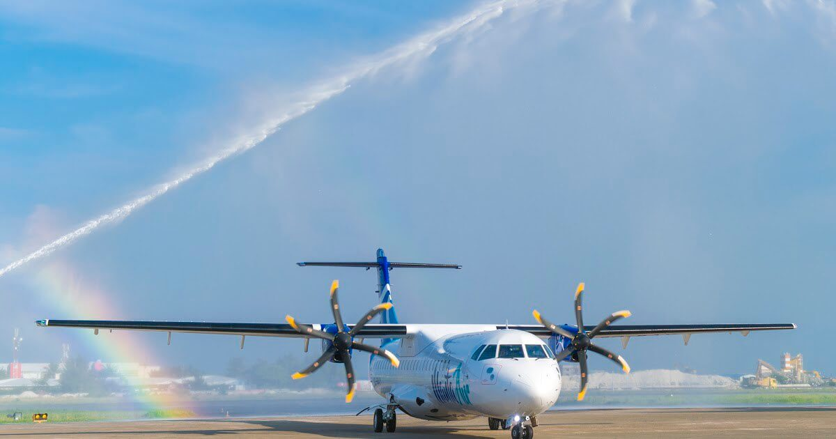 ATR launches short take-off and landing 42-600S