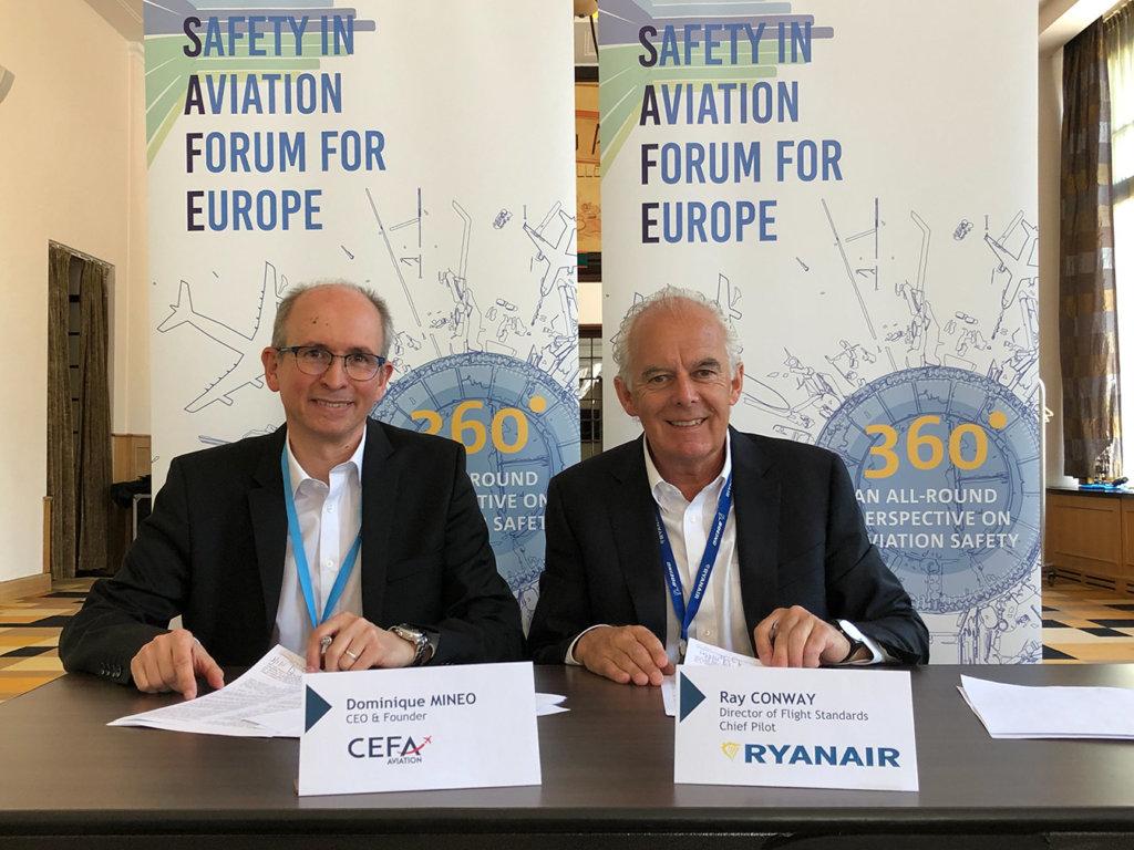 Ryanair signs pilot training software partnership with CEFA Aviation